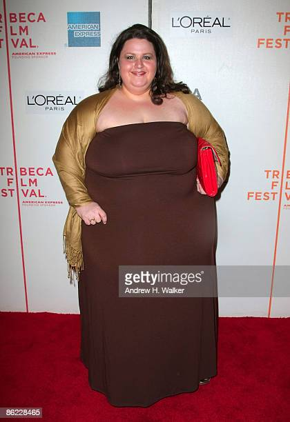 Actress Carrie Baker Reynolds attends the premiere of City Island during the 2009 Tribeca Film Festival at BMCC Tribeca Performing Arts Center on...