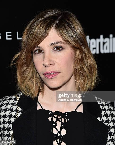 Actress Carrie Brownstein attends Entertainment Weekly's celebration honoring THe Screen Actors Guild presented by Maybeline at Chateau Marmont on...