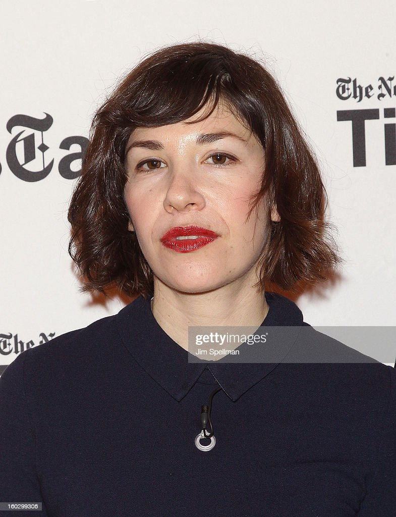 Actress Carrie Brownstein attends New York Times TimesTalks Presents: 'Portlandia' at TheTimesCenter on January 28, 2013 in New York City.