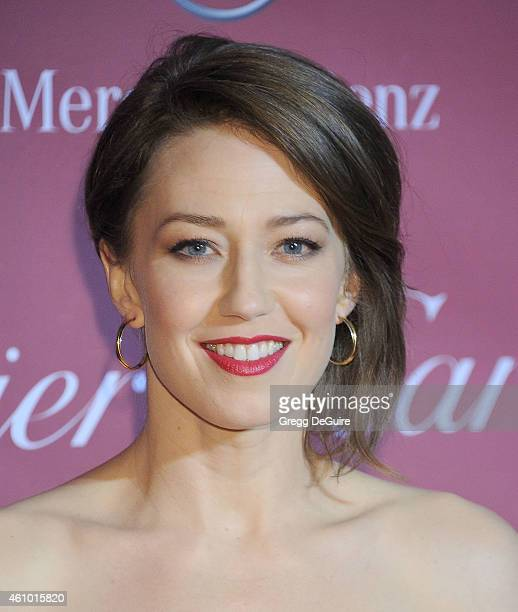 Actress Carrie Coon arrives at the 26th Annual Palm Springs International Film Festival Awards Gala Presented By Cartier at Palm Springs Convention...