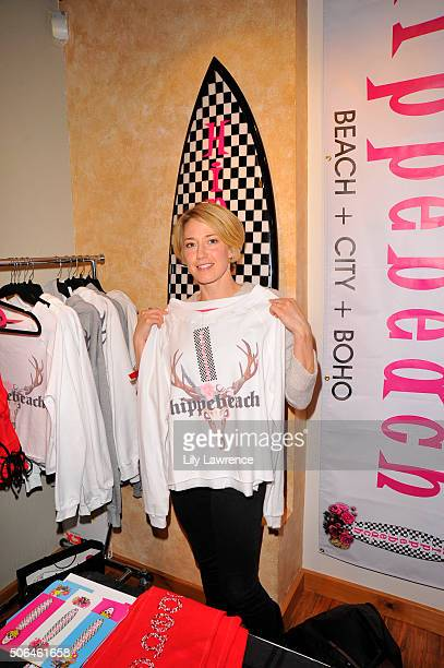 Actress Carrie Coon attends Kari Feinstein's Style Lounge on January 23 2016 in Park City Utah
