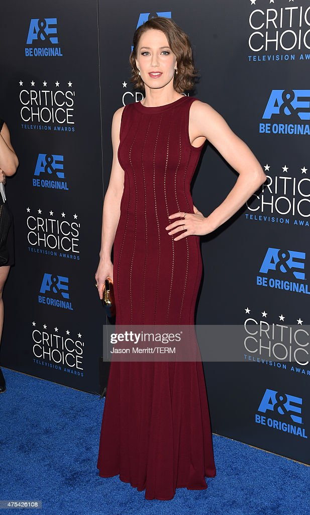Actress Carrie Coon attends the 5th Annual Critics' Choice Television Awards at The Beverly Hilton Hotel on May 31, 2015 in Beverly Hills, California.