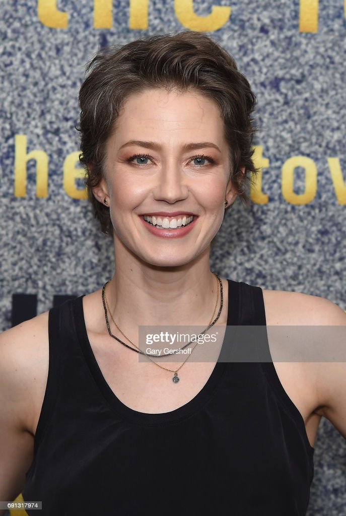 Actress Carrie Coon attends 'The Leftovers' screening at Metrograph on June 1, 2017 in New York City.