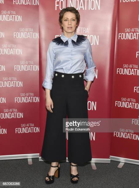 Actress Carrie Coon poses for portrait at SAGAFTRA Foundation's Conversations with 'Fargo' at SAGAFTRA Foundation Screening Room on May 11 2017 in...