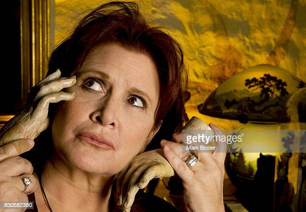 Actress Carrie Fisher is photographed for Los Angeles Times on December 2 2010 in Los Angeles California PUBLISHED IMAGE CREDIT MUST READ Mark...