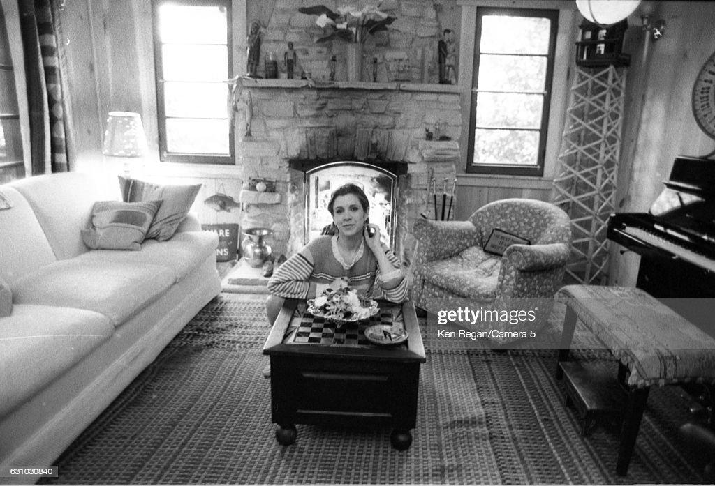 Carrie Fisher, Ken Regan Archive, 1983