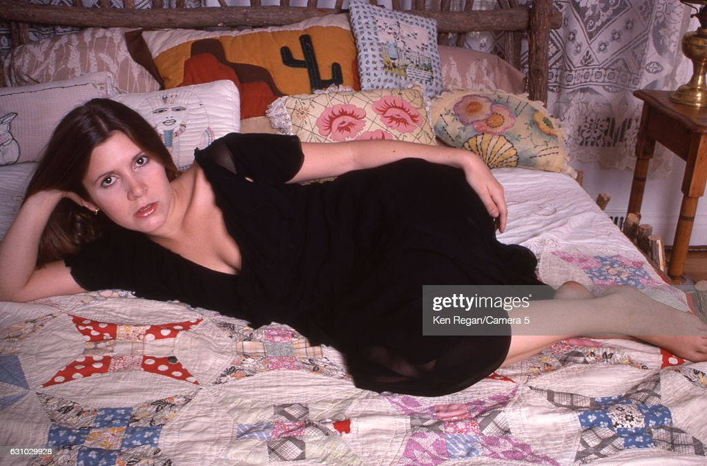 Carrie Fisher, Ken Regan Archive, August 1977