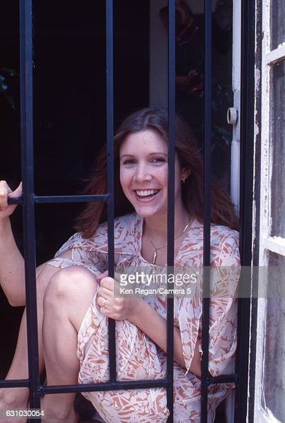 Actress Carrie Fisher is photographed in August 1977 in Los Angeles California CREDIT MUST READ Ken Regan/Camera 5 via Contour by Getty Images
