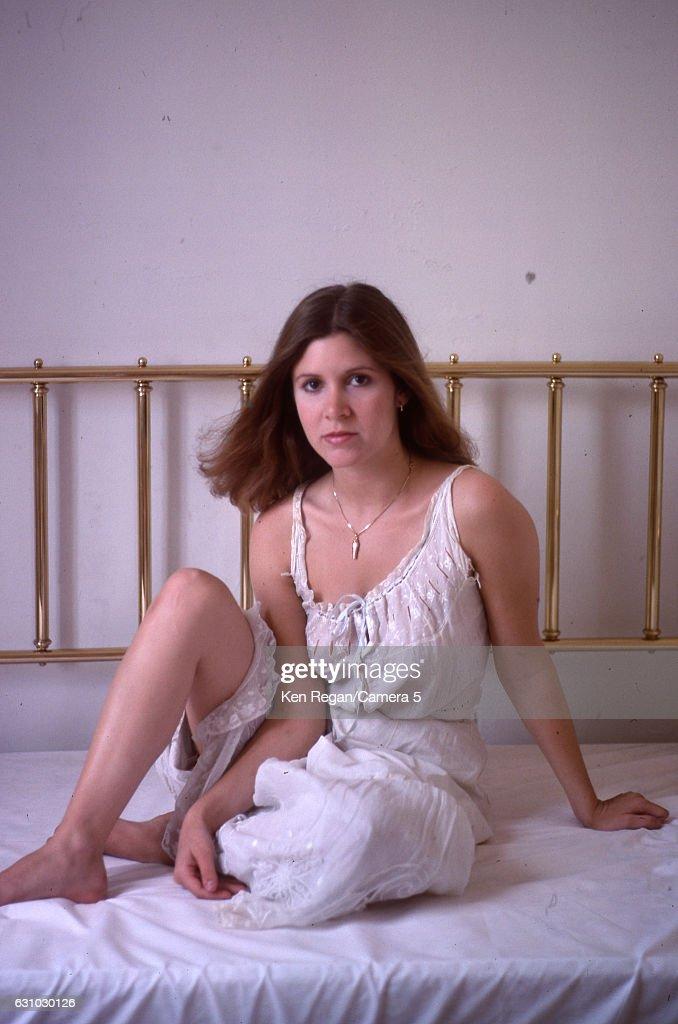 Carrie Fisher, Ken Regan Archive, August 1977
