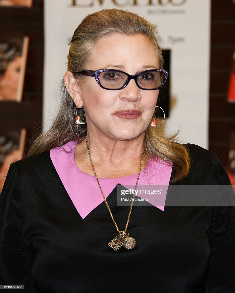 "Carrie Fisher Book Signing For ""The Princess Diarist"""