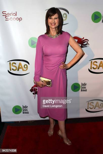 Actress Carrie Genzel attends the 9th Annual Indie Series Awards at The Colony Theatre on April 4, 2018 in Burbank, California.