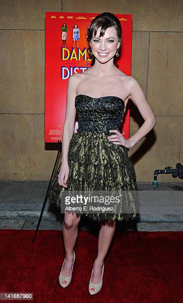 Actress Carrie MacLemore arrives to the Premiere of Sony Pictures Classics' Damsels In Distress at the Egyptian Theatre on March 21 2012 in Hollywood...