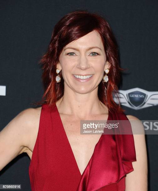 Actress Carrie Preston attends OUT Magazine's inaugural POWER 50 gala and awards presentation at Goya Studios on August 10 2017 in Los Angeles...