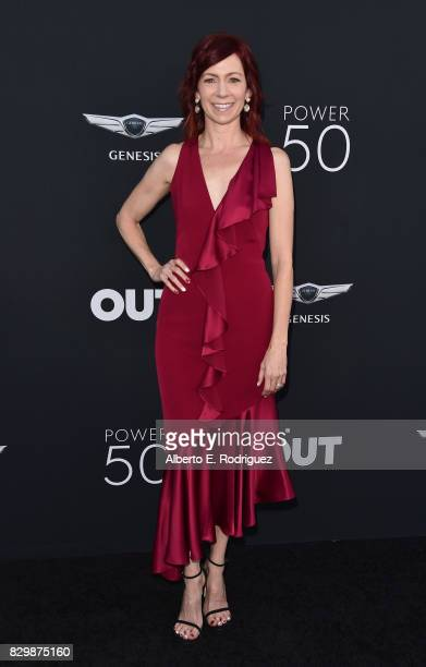 Actress Carrie Preston attends OUT Magazine's Inaugural Power 50 Gala Awards Presentation at Goya Studios on August 10 2017 in Los Angeles California