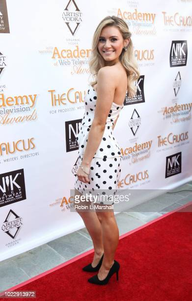 Actress Carrie Wampler attends the 6th International Academy of Web Television Awards at Skirball Cultural Center on August 24 2018 in Los Angeles...