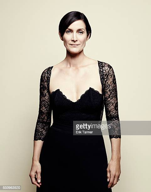 Actress CarrieAnne Moss poses for a portrait at the 75th Annual Peabody Awards Ceremony at Cipriani Wall Street on May 21 2016 in New York City