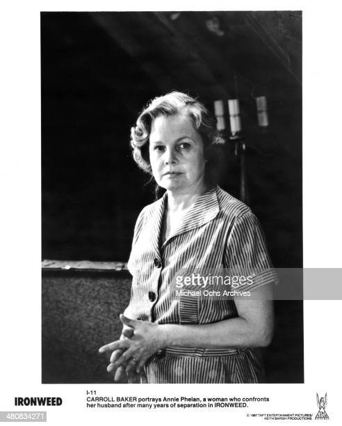 Actress Carroll Baker in a scene from the Tri Star Entertainment movie ' Ironweed ' circa 1987