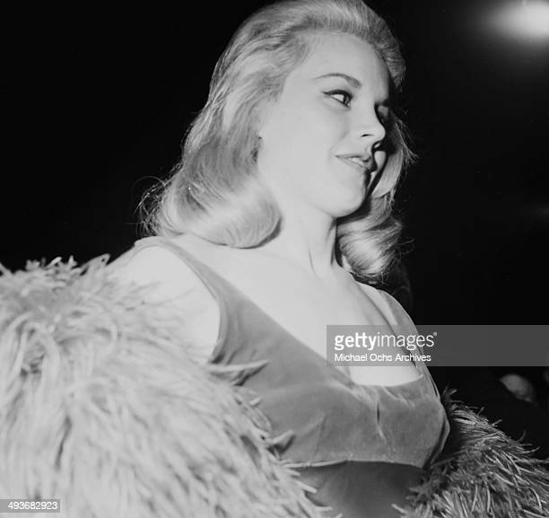 Actress Carroll Baker poses during the premier of 'How the West Was Won' in Los Angeles California