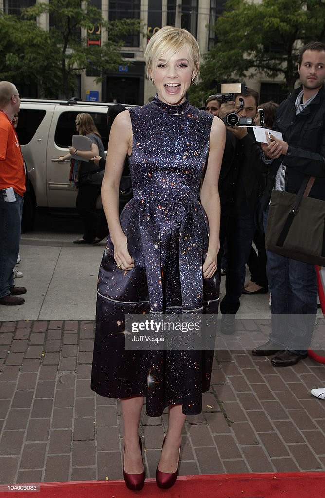 Actress Carry Mulligan arrives at the 'Never Let Me Go' Premiere held at the Ryerson Theatre during the 35th Toronto International Film Festival on September 11, 2010 in Toronto, Canada.