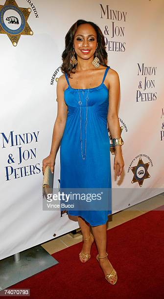 Actress Caryn Ward attends the Los Angeles County Sheriff's Youth Foundation's annual Salute To Youth benefit dinner honoring producers Jon and Mindy...