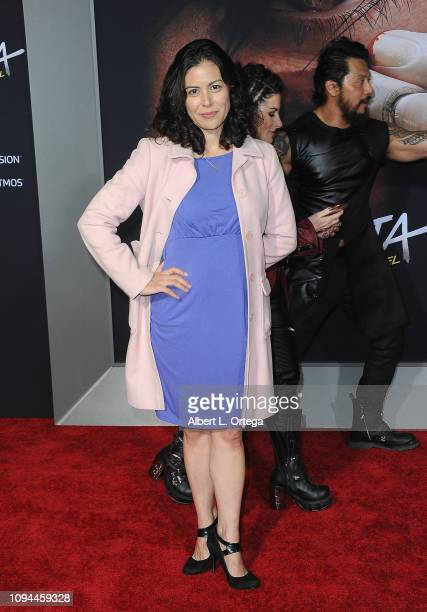Actress Casey Dacanay arrives for the Premiere Of 20th Century Fox's 'Alita Battle Angel' held at Westwood Regency Theater on February 5 2019 in Los...