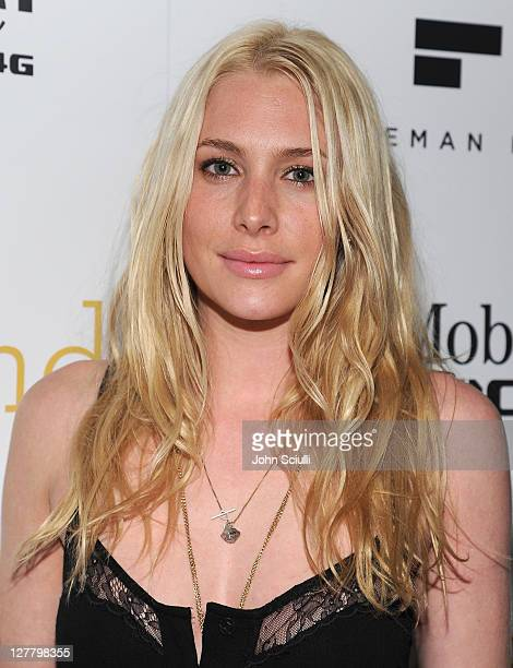 Actress Casey LaBow attends the 'Skateland' after party on May 11 2011 in Hollywood California