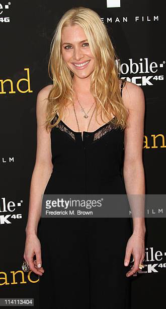 Actress Casey LaBow attends the 'Skateland' film premiere at the Arclight Theater on May 11 2011 in Hollywood California