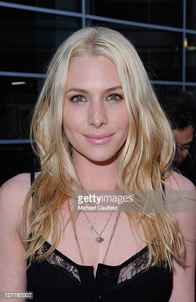 Actress Casey LaBow attends the 'Skateland' Los Angeles Premiere at ArcLight Cinemas on May 11 2011 in Hollywood California