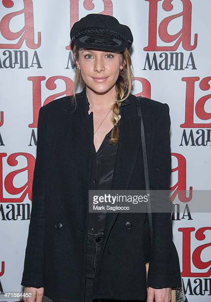 Actress Casey LaBow attends the 'Trash Cuisine' Off Broadway Opening Night at La MaMa Theater on April 29 2015 in New York City