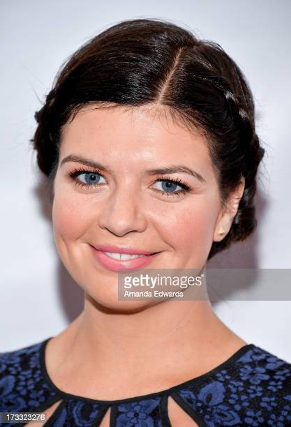 Actress Casey Wilson arrives at the 2013 Outfest Opening Night Gala of COG at The Orpheum Theatre on July 11 2013 in Los Angeles California