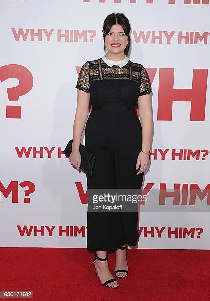 Actress Casey Wilson arrives at the Los Angeles Premiere Why Him at Regency Bruin Theater on December 17 2016 in Westwood California