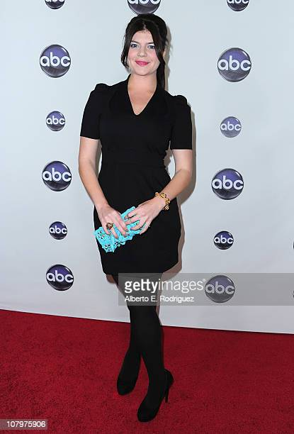 Actress Casey Wilson arrives to Disney ABC Television Group's TCA Winter Press Tour on January 10 2011 in Pasadena California