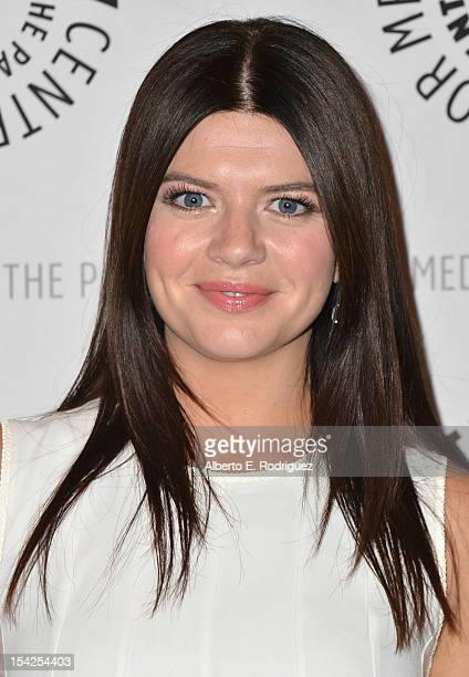 Actress Casey Wilson arrives to The Paley Center For Media's An Evening With Happy Endings and Don't Trust the B In Apartment 23 at The Paley Center...