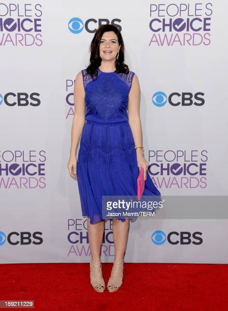 Actress Casey Wilson attends the 39th Annual People's Choice Awards at Nokia Theatre LA Live on January 9 2013 in Los Angeles California