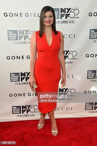 Actress Casey Wilson attends the Opening Night Gala Presentation and World Premiere of Gone Girl during the 52nd New York Film Festival at Alice...