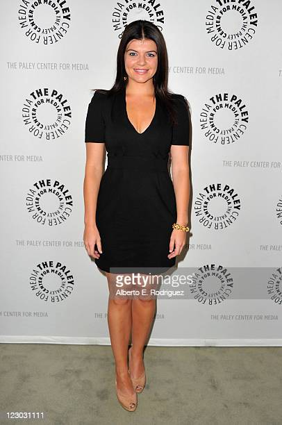 Actress Casey Wilson attends The Paley Center for Media's An Evening with Happy Endings on August 29 2011 in Beverly Hills California