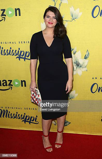 Actress Casey Wilson attends the premiere of Amazon Instant Video's One Mississippi at The London West Hollywood on August 30 2016 in West Hollywood...