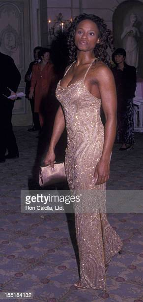 Actress Cassandra Creech attends Drama League Dinner Honoring Liza Minnelli on January 31 2000 at the Pierre Hotel in New York City