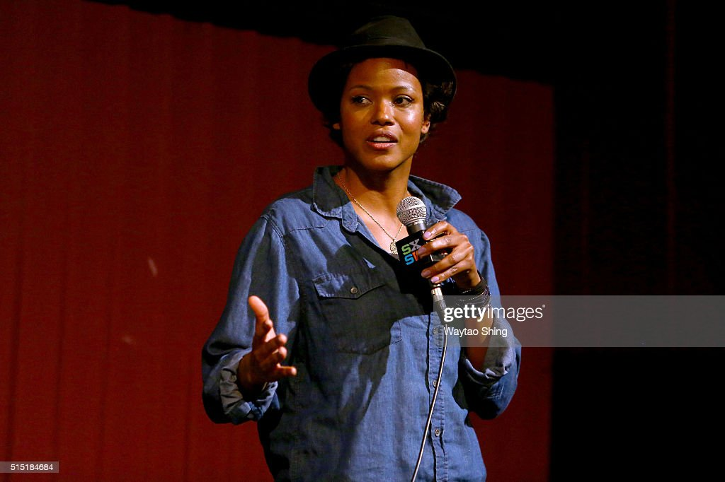 Actress Cassandra Freeman speaks onstage during the premiere of 'Long Nights Short Mornings' during the 2016 SXSW Music, Film + Interactive Festival at Alamo Lamar A on March 12, 2016 in Austin, Texas.