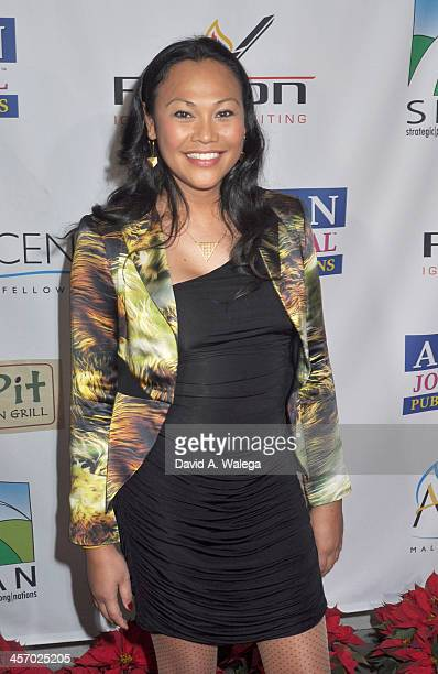 Actress Cassandra Hepburn attends the Span Philippines Relief Fundraiser at Malibu West Beach Club on December 15 2013 in Malibu California
