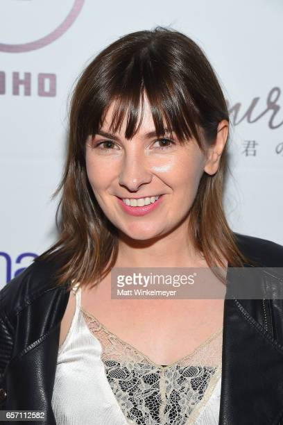 Actress Cassandra Morris attends Funimation Films presents 'Your Name' Theatrical Premiere in Los Angeles CA at Yamashiro Hollywood on March 23 2017...