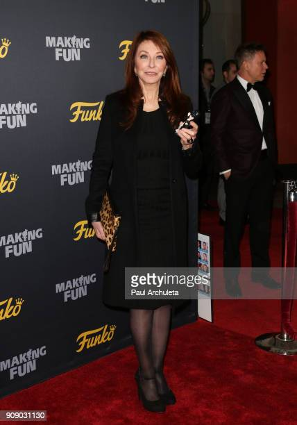 Actress Cassandra Peterson attends the premiere of Making Fun The Story Of Funko at TCL Chinese 6 Theatres on January 22 2018 in Hollywood California