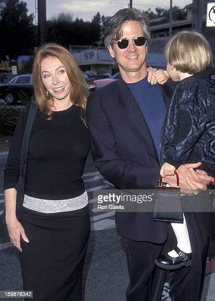Actress Cassandra Peterson husband Mark Pierson and daughter Sadie attend the Party for Ingrid Newkirk's New Book You Can Save the Animals on April...