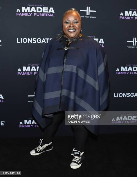 Actress Cassi Davis attends the NY special screening for Tyler Perry's 'A Madea Family Funeral' at SVA Theater on February 25 2019 in New York City