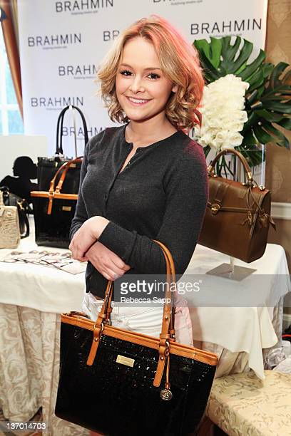 Actress Cassi Thomson attends the HBO Luxury Lounge Featuring L'Oreal Paris And New Era Cap Day 1 at Four Seasons Hotel Los Angeles on January 14...