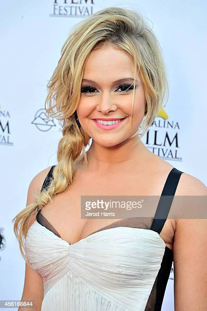 Actress Cassi Thomson attends the premiere of 'Left Behind' at the 2014 Catalina Film Festival on September 26 2014 in Catalina Island California