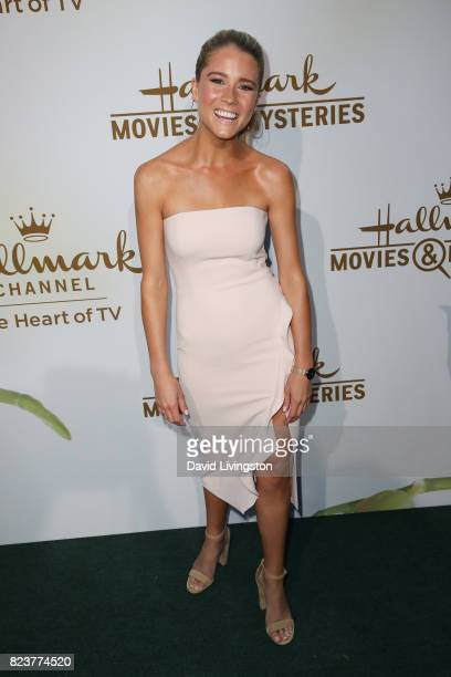 Actress Cassidy Erin Gifford attends the Hallmark Channel and Hallmark Movies and Mysteries 2017 Summer TCA Tour on July 27 2017 in Beverly Hills...