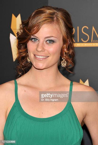 Actress Cassidy Freeman arrives at the 2009 PRISM Awards at the Beverly Hills Hotel on April 23 2009 in Beverly Hills California
