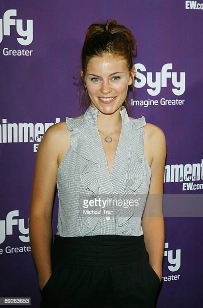 Actress Cassidy Freeman arrives at the EW and Syfy ComicCon party held at the Hotel Solamar July 25 2009 in San Diego California