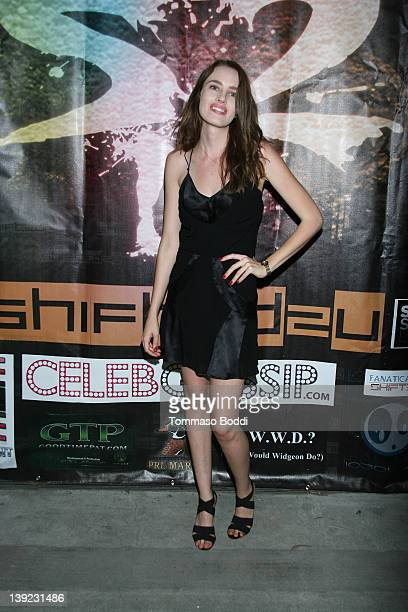 Actress Cassidy Gard attends the Shifted2u presents the private PlayStation Vita prelaunch session held at the Vita Hill Social Club on February 17...